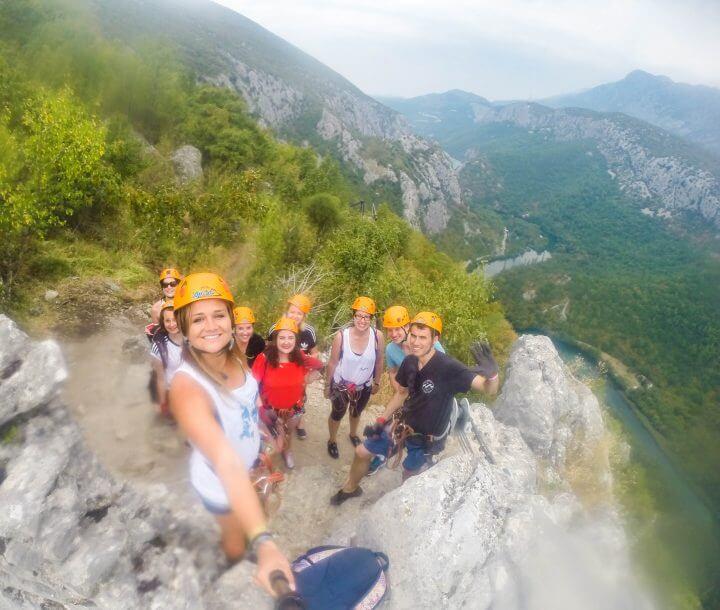 Omis adventures in croatia zip lining in Croatia