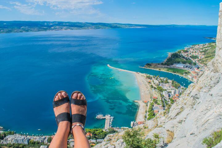 day trips from Split croatia omis hike canyoning zip lining river rafting