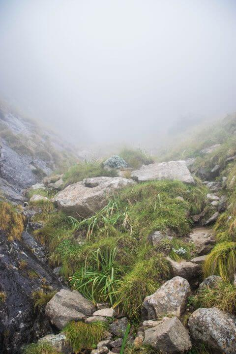 A Tugela Falls Hike in the Drakensburg Mountains, South Africa/Lesotho Border rock scramble