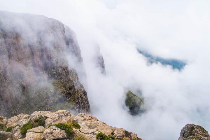 mountain fog