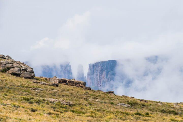 A Tugela Falls Hike in the Drakensburg Mountains, South Africa/Lesotho Border devil's tooth rock