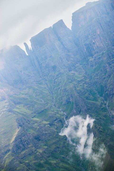 A Tugela Falls Hike in the Drakensburg Mountains, South Africa/Lesotho Border Devil's Tooth