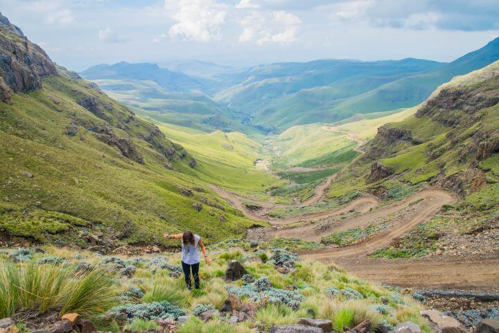 sani pass lesotho south africa