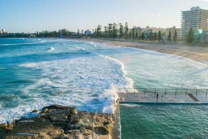 guide to manly beach sydney queenscliff beach