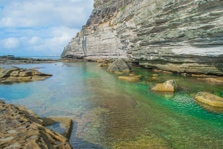 manly beach north head secret rock pools