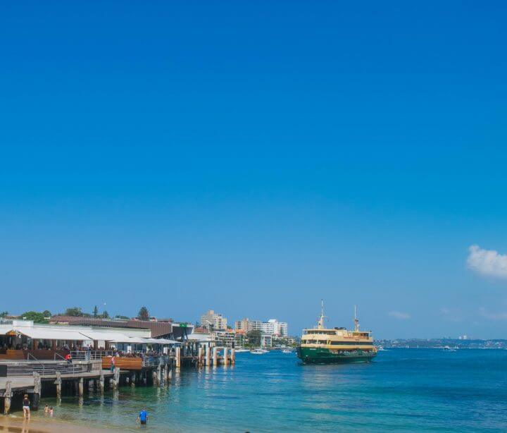 manly ferry wharf guide to best things to do in manly beach