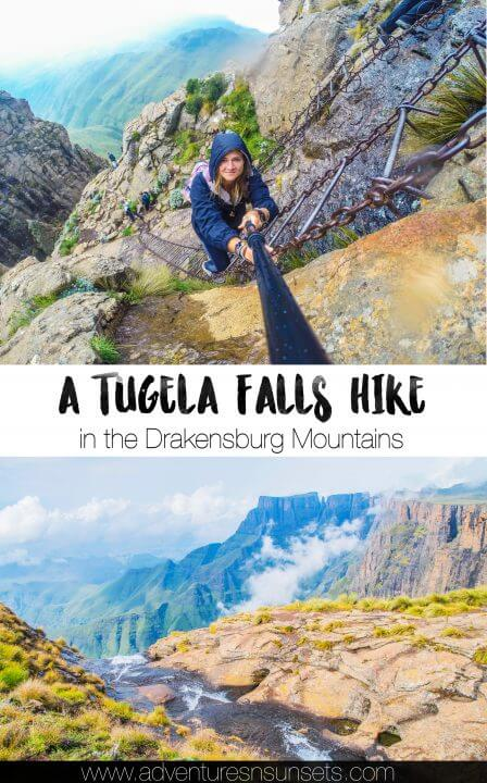 A Hike to Tugela Falls in the Drakensburg Mountains on the border of Lesotho and South Africa. Tugela is the second tallest waterfall in the world and encompasses an incredible yet strenuous hike involving rock scrambling and ladders down a sheer cliff face!