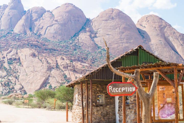 Namibia Road Trip africa spitzkoppe camping site