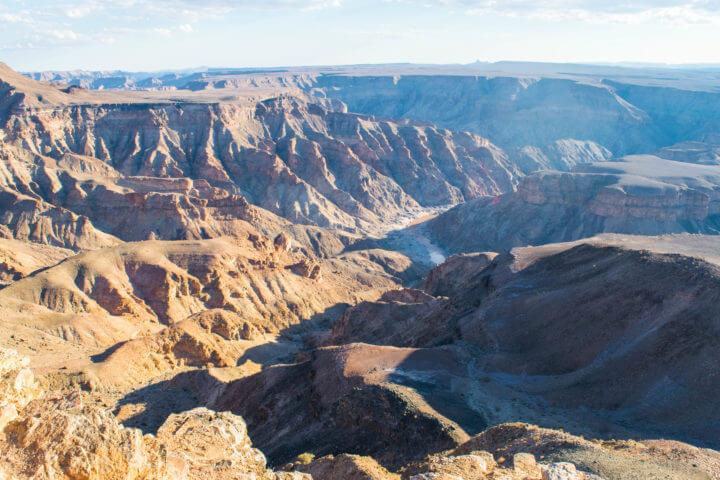 Namibia road trip fish river canyon namib desert