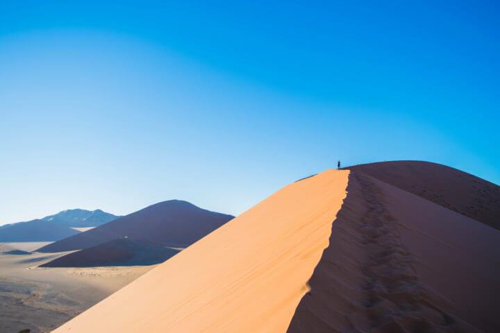 Namibia Road Trip itinerary sossusvlei sand dunes dune 45