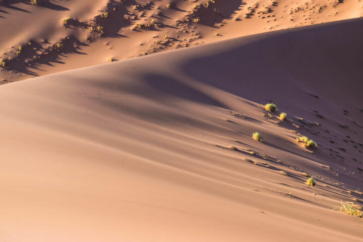 Namibia Road Trip itinerary sossusvlei sand dunes dune 45 up close