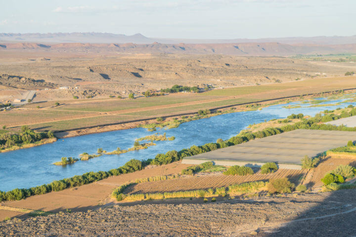 namibia road trip orange river