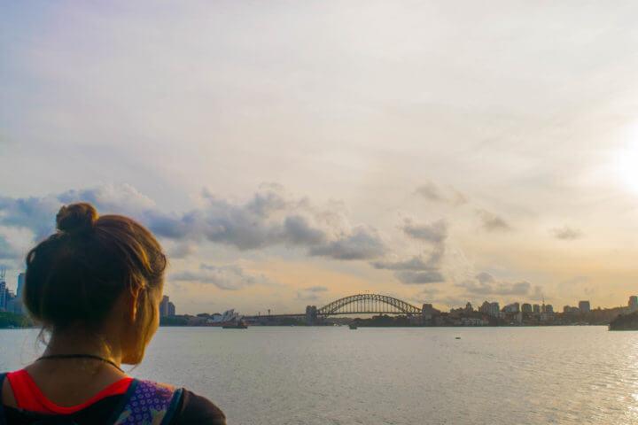best sydney sunset spots - bradley's head sunset