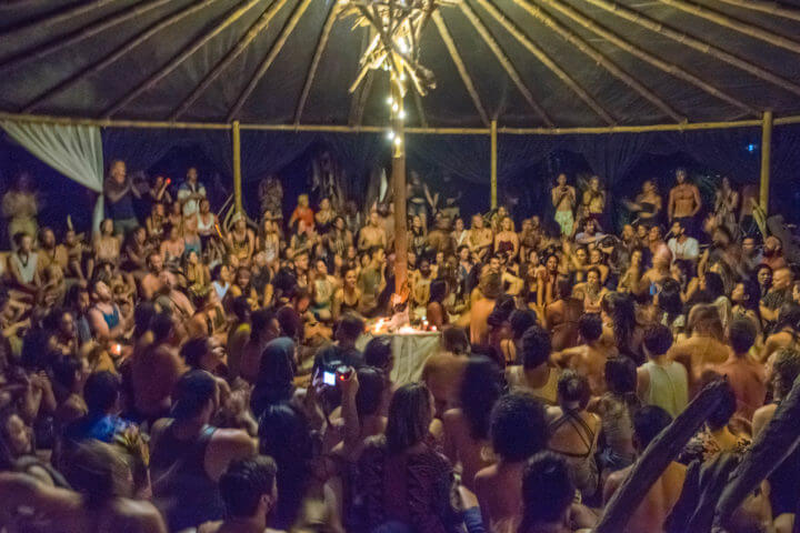 Envision Festival Guide Review red tent sanctuary song ceremony
