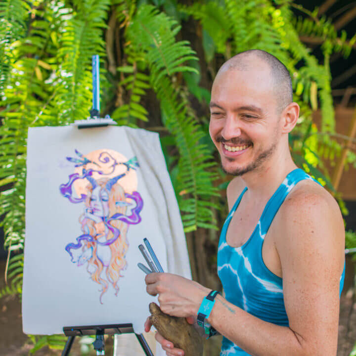 Envision Festival Guide Review envision artists live art