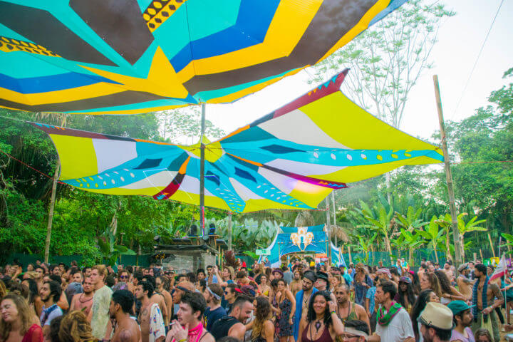 Envision Costa Rica Envision Festival Review house techno lapa stage going to a festival alone