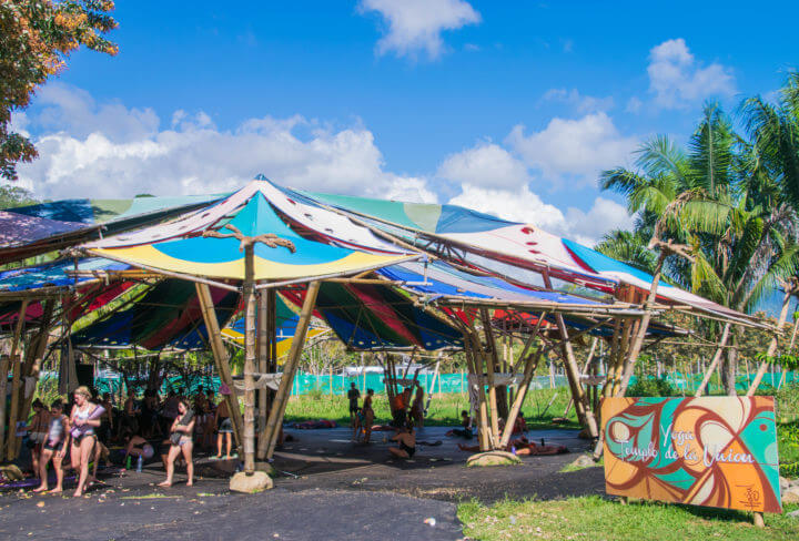 Envision Festival Guide Review yoga temple