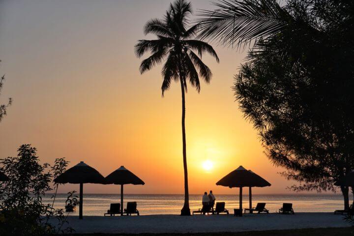 african sunsets zanzibar beach sunset resort