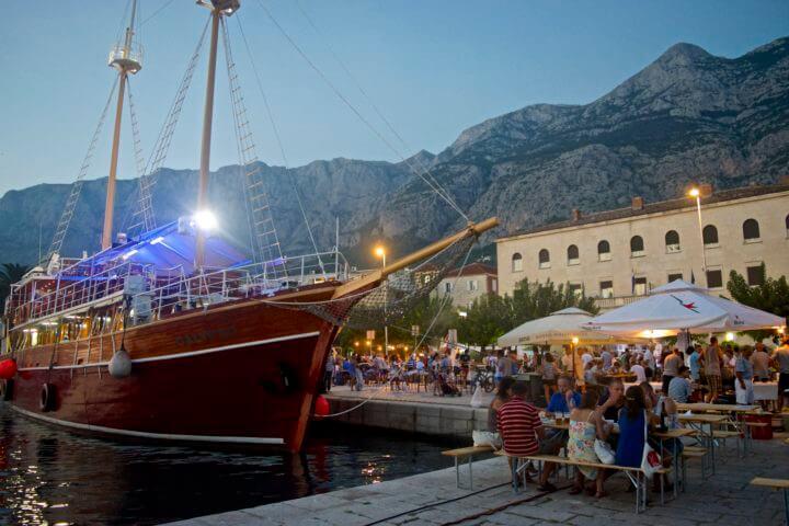 croatia sailing tours nightlife