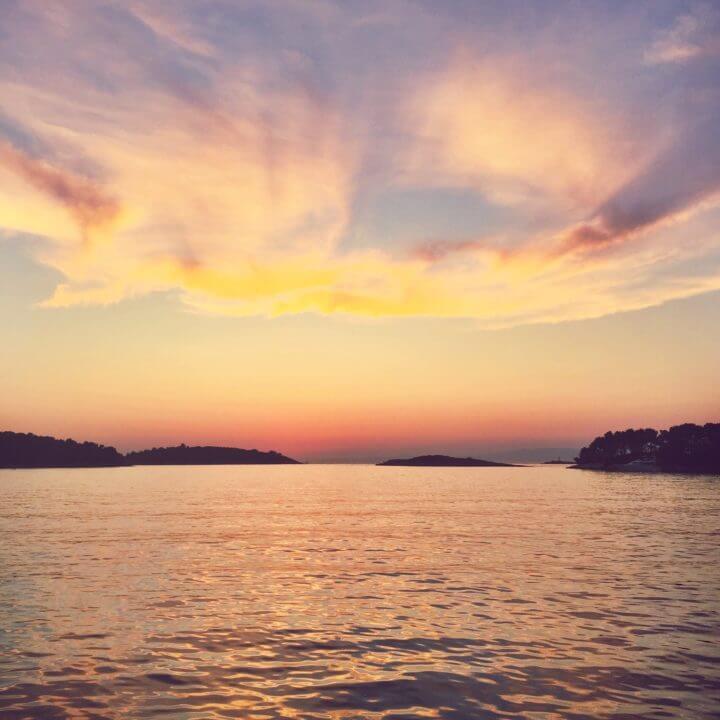 croatia sailing tours croatia sunset