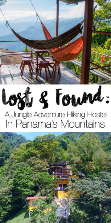 The Lost and Found Hostel Panama is an adventure hiking hostel nestled deep within the Panamanian junlge on a mountainout hillside. You can visit canyons and waterfalls, do the hostel's treasure hunts, hike miles of trails, visit coffee plantations, and more!