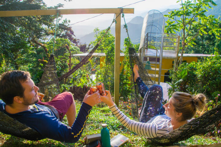 lost and found hostel panama hiking hostel in panama view