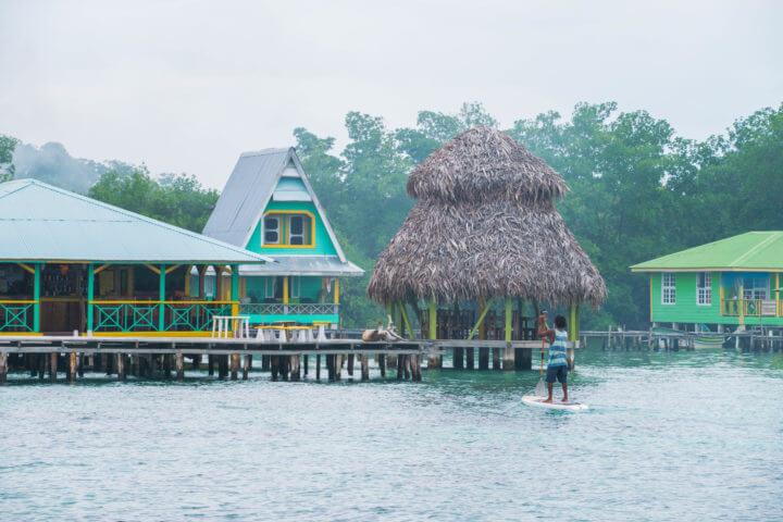 coral cay cabins where to stay in bocas del toro