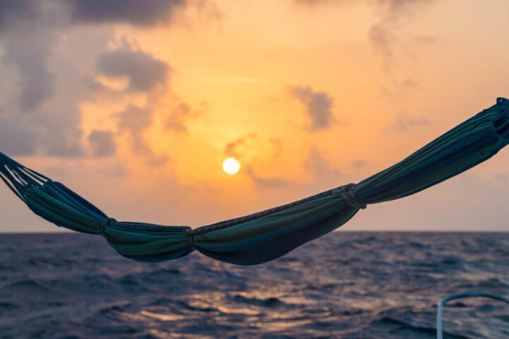 panama sunset caribbean
