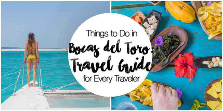 A Bocas del Toro Travel Guide with ALL the things to do in Bocas del Toro - all kinds of adventure activities, places to eat, places to stay, and sunset spots.