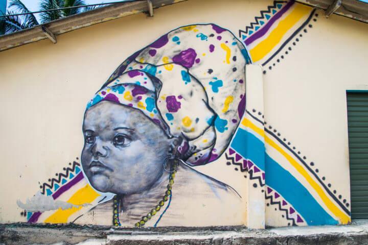 street art sapzurro hike from capurgana travel guide