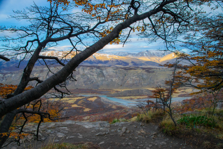 patagonia landspace fall colors mountains