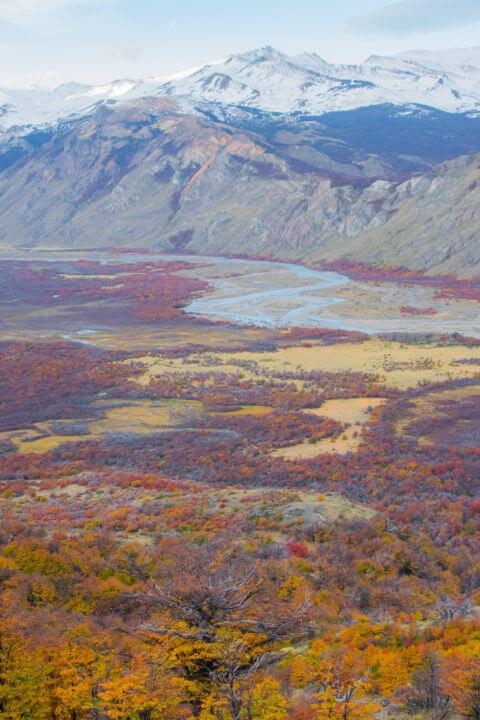 2 week patagonia itinerary el chalten fall colors