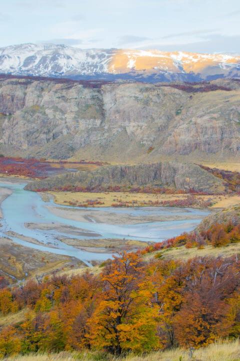 patagonia in autumn fitz roy el chalten