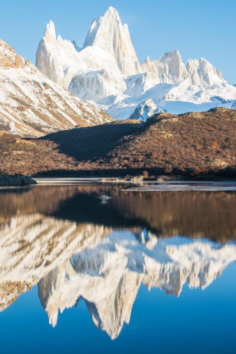 patagonia Itinerary el chalten sinrise lago capri hike fitz roy trek laguna de los tres