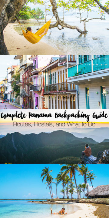 Complete Panama Backpacking guide - with routes, and itinerary, hostels to stay in, and what to do! #Panama #travel #backpacking #backpacker #travel #backpackingcentralamerica #centralamerica