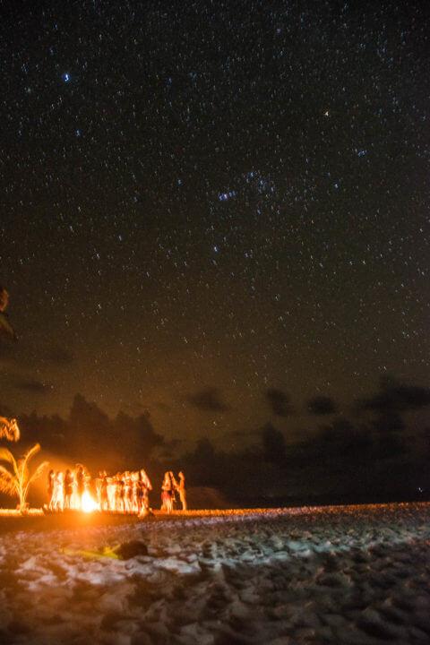 san blas adventures island bonfire under the stars panama to colombia sail