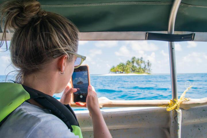 san blas islands sailing speedboat panama to colombia
