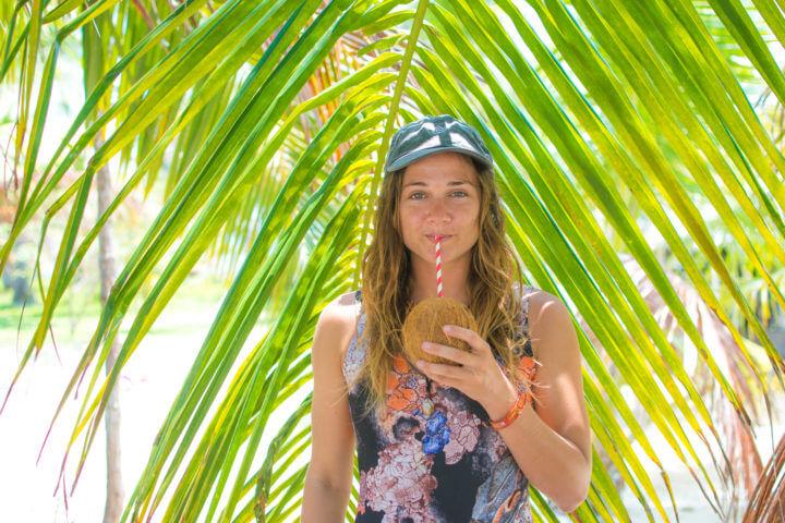 sail panama to colombia - coconuts