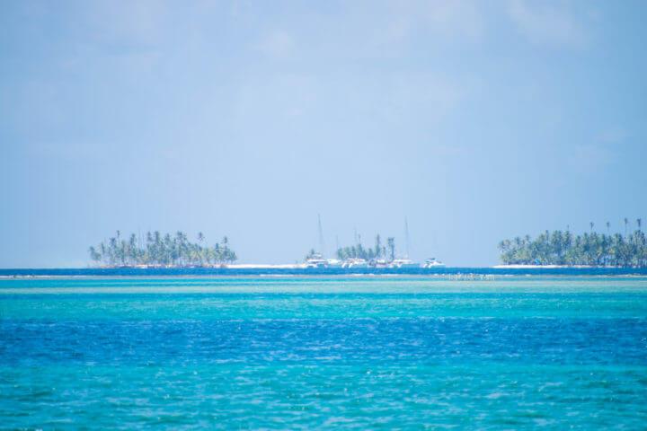 sailing panama to colombia catamarans san blas islands