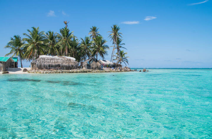 speedboat or sailing panama to colombia san blas sailing islands