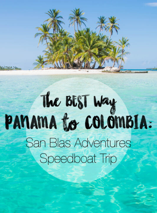 Thinking of crossing Panama to Colombia, but aren't sure whether to fly or sail? Let this be your reason to take a speedboat trip through the San Blas Islands, allowing you to experience the world's most beautiful islands, see untouched villages, and make new friends. #panama #travel #sailing #islands #sanblas #sanblasisldands #tropical #adventures #paradise #kuna #kunayala #caribbean #colombia
