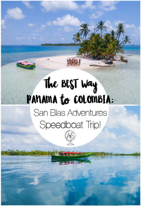 Wondering how to get from Panama to Colombia (or vice versa?) You can only go between the two countries via sea or air - both of which can be pricy! BUT if you sail between the two, you can experience the San Blas islands - some of the most beautiful islands in the world, with a fascinating indigenous culture called the Kuna Ayala people. TAke a Speedboat trip with San Blas adventures and make your border crossing into an unforgettable experience. #panama #travel #sailing #islands #sanblas #sanblasisldands #tropical #adventures #paradise #kuna #kunayala #caribbean #colombia