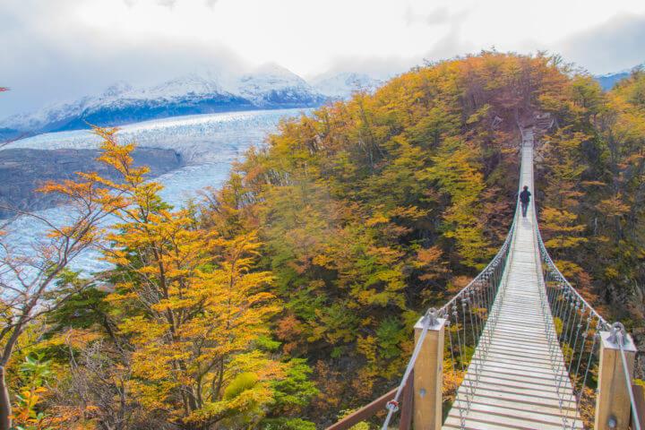 patagonia itinerary 2 weeks with w trek torres del paine hanging bridges grey glacier