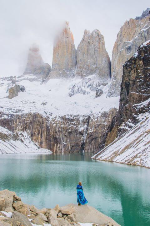 mirador de las torres - patagonia itinerary 2 weeks torres del paine el chalten el calafate