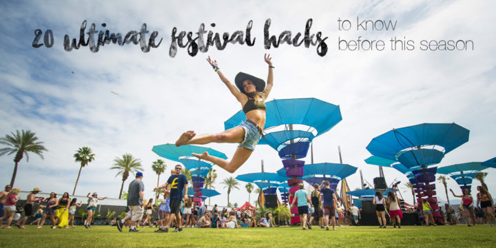The Ultimate Music Festival Hacks, Tips, and Must Haves