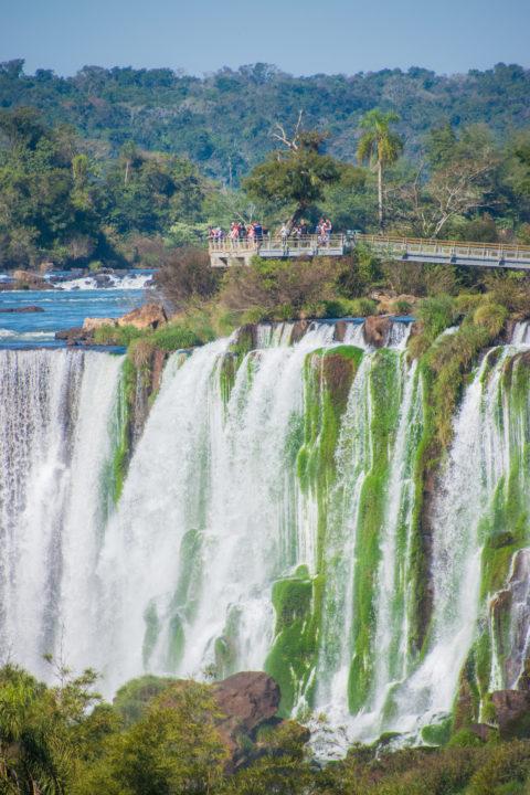 iguazu falls itinerary circuito superior
