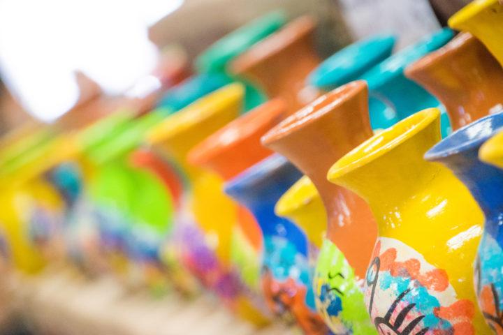 northern argentina quebrada de humahuaca tour pottery art craft colorful