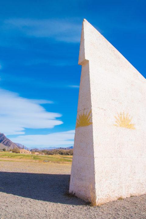 tropic of capricorn quebrada de humahuaca argentina huge sundial