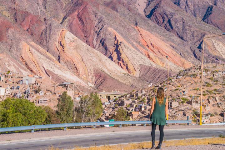 maimara painter's palate coloful hill argentina