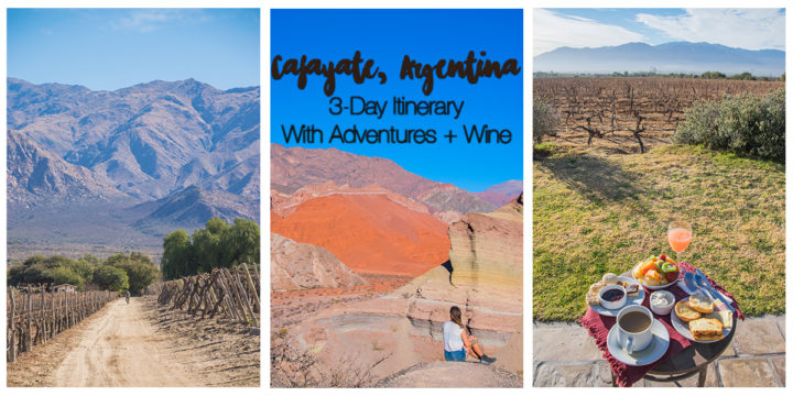 Cafayate Argentina: 3 Day Itinerary with Adventures + Lots of Wine
